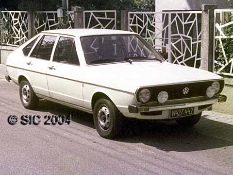 1982 the bug became too small, therefore I bought a Passat