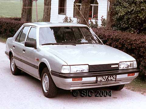 1984 the Passat was replaced by a Mazda
