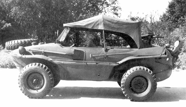 1940-1944 a swimming-4WD car on the basis of the Bug was produced for the Army too