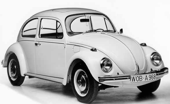 Model-year 1968 marked the greatest changes: new bumpers, new upright headlights (introduced for the u.s. market one year earlier) and outside tank-cap, the Bug now has a quite different, more modern appearance