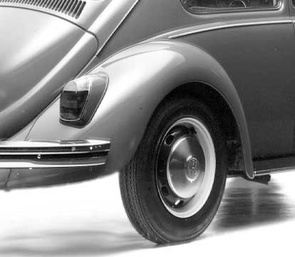 "1968 the taillights were changed too, in German the so called ""Bügeleisenform"" (flat-iron-form)"
