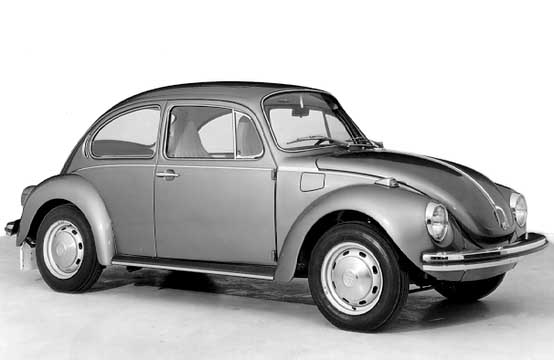 1972 the super beetle, the VW 1303 was introduced, most remarkably the panoramic windscreen